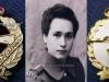 Εθνόσημο της ΄΄Σχολής Αδελφών Αξιωματικών Νοσοκόμων'' (ΣΑΑΝ) το οποίο εθνόσημο ανήκε στην κ.Ανθούλα Μπαθρέλλου (εικονίζετε στην φωτογραφία με τον βαθμό της Ανθυπασπίστριας) η οποία υπηρέτησε στο εν λόγω ΄΄Σώμα΄΄ από το 1954 έως το 1973 όπου και αποστρατεύτηκε με τον βαθμό της ''Γενικής Προϊσταμένης'' (Ταγματάρχης). Η εν λόγω αξκος μάλιστα ήταν και η πρώτη δκτης του Στρκου νοσοκομείου της Βέροιας κατά την περίοδο 1970-1971. Να επισημάνουμε επίσης πως η ''ΣΑΑΝ'' ιδρύθηκε το 1946 και άξιον παρατηρήσεως είναι ότι το εθνόσημο φέρει στο κέντρο το γράμμα ''Φ'' που ήταν το αρχικό γράμμα από το όνομα της Βασίλισσας Φρειδερίκης, το οποίο όνομα αναγράφονταν και ολόκληρο προς τιμήν της, αφού η Βασίλισσα Φρειδερίκη είχε υπό την προστασία της την εν λόγω Στρατιωτική Σχολή.