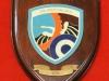 Αναμνηστική πλακέτα με το έμβλημα του ''Σ.Ε.Π.Α.'' (Συγκρότημα Εξυπηρέτησης Προσωπικού Αεροπορίας) δωρεά Σμηνάρχου (Ο) κ.Σπυρίδων Ηλιακόπουλου.