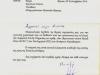 Ευχαριστήρια επιστολή του Στρ\γου Δκτου της Ιης Μεραρχίας Πεζικού (ΙΜΠ) την 09-09-2016