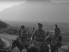 Φωτογραφία του 1947 όπου εμφανίζει στελέχη της Χωροφυλακής να κινούνται έφιπποι στην ορεινή περιοχή της Μάνης σε εκκαθαριστικές επιχειρήσεις.