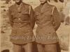 Φωτογραφία του 1949 όπου εμφανίζει τον τότε 18χρονο οπλίτη της ''Ελληνικής Βασιλικής Χωροφυλακής'' Σωτήριο Ντόντο (πατέρας μου αριστερά εικονιζόμενος) σε αναμνηστική φωτογραφία με συνάδελφό του κατά την πρώτη ημέρα παρουσιάσεως τους στην Σχολή Χωροφυλακής του Λαυρίου.