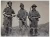 Φωτογραφία του 1949 όπου εμφανίζει ναρκοσυλλέκτες του Ελληνικού Στρατού να ενεργούν εκκαθαρίσεις σε ναρκοθετημένες περιοχές του ''Γράμμου'' από τους συμμορίτες, προκειμένου να εξασφαλιστούν ασφαλή τα δρομολόγια για την διέλευση των φίλιων τμημάτων.