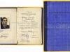 ''ΒΙΒΛΙΑΡΙΟΝ ΣΠΟΥΔΩΝ'' που εκδόθηκε από την Πρυτανεία του Πανεπιστημίου Θεσσαλονίκης την 07-02-1944 (εν μέσω της κατοχής), στον τότε πρωτοετή φοιτητή της Νομικής Σχολής και μετέπειτα Στρατηγό της ''Ελληνικής Βασιλικής Χωροφυλακής'' Ξενοφών Τζαβάρα (δωρεά κ.Ντόρας Τζαβάρα).