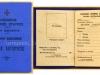 Δελτίο Ταυτότητας (αχρησιμοποίητο) του ''Ελληνικού Ερυθρού Σταυρού'' του Τμήματος της Θεσσαλονίκης, το οποίο ήταν για χρήση κατά την δεκαετία του 1940.