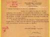 Επίσημο έγγραφο που εκδόθηκε την 18-12-1949 από το τότε Τμήμα Εθνικής Ασφαλείας της Ελληνικής Βασιλικής Χωροφυλακής της Θεσσαλονίκης, και αφορά την υπηρεσιακή μετακίνηση του τότε Ανθυπομοίραρχου Ξενοφώντα Τζαβάρα προς την Αρναία Χαλκιδικής για εκτέλεση ειδικής υπηρεσίας.