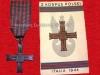 Μετάλλιο του Πολωνικού Στρατού που χορηγήθηκε σε όσους Πολωνούς πολέμησαν στην Ιταλία μαζί με τους συμμάχους στην μάχη του ''Monte Cassino'' στον Β΄ΠΠ.