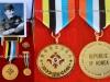 Μετάλλιο που χορηγήθηκε το 2014 από το ''Υπουργείο Βετεράνων Πολέμου Κορέας'', στους εν ζωή Έλληνες βετεράνους του πολέμου της Κορέας. Το μετάλλιο φέρει την ονομασία ''Πρεσβευτής της Ειρήνης'', και χορηγήθηκε στον Σχη (ΠΖ) ε.α. κ.Τσούπα Κωννο, ο οποίος έλαβε μέρος στον πόλεμο της Κορέας ως Μον.Λοχίας (ΠΖ) , με ειδικότητα ''φλογοβολιστής'',ενώ στην φωτογραφία εμφανίζεται μετά την επιστροφή του από την Κορέα με την Αμερικάνικη στολή ,και με τα αμερικάνικα διακριτικά Λοχία που έφερε, καθώς και τις τιμητικές διακρίσεις που του απονεμήθηκαν από το ΝΑΤΟ-ΟΗΕ και Ελλάδα.Τέλος να επισημάνουμε πως το μετάλλιο χορηγείτε για χρήση για τέσσερις διαφορετικές χρήσεις σε στολές και πολιτική περιβολή.