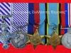 Βρετανικά μετάλλια του Β΄ΠΠ (δωρεά κ.Θεοδόση Ιωαννίδη).