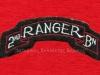 Διακριτικό της 2ης Μονάδος των ''Rangers'' των αμερικανικών Eιδικών Δυνάμεων του Β΄ΠΠ