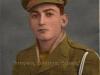 Αναμνηστική φωτογραφία (επιχρωματισμένη) του 1949 που εμφανίζει τον τότε 19χρονο οπλίτη της ''Ελληνικής Βασιλικής Χωροφυλακής'' Σωτήριο Καν. Ντόντο (πατέρας μου) όταν υπηρετούσε στην Σχολή Χωροφυλακής του Λαυρίου-Αττικής.