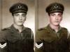 Φωτογραφία του 1949 όπου εμφανίζει τον τότε 18χρονο οπλίτη της ''Ελληνικής Βασιλικής Χωροφυλακής'' Σωτήριο Ντόντο (πατέρας μου) στην πρώτη του έξοδο από την Σχολή Χωροφυλακής του Λαυρίου