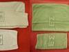 Πετσέτες (προσόψια-μπάνιου-χεριών) παλαιού και νέου τύπου του Στρατού Ξηράς (δωρεά κ.Ιωάννη Τζέλιου).