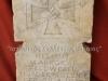 ΣΠΑΝΙΕΣ ΕΥΡΗΜΑΤΑ…..Μαρμάρινες Γερμανικές επιτύμβιες πλάκες τριών νεκρών Γερμανών στρατιωτικών κατά την διάρκεια του Β΄ΠΠ στην Ελλάδα. Οι εν λόγω επιτύμβιες πλάκες αναγράφουν αναλυτικά τα στοιχεία του κάθε νεκρού, όπου ένας εξ αυτών σκοτώθηκε στο χωριό Άμμος έξω από την Βέροια, και οι άλλοι δύο στην Θεσσαλονίκη. Τα σπάνια αυτά ευρήματα βρέθηκαν σε απομονωμένη και απόκρημνη περιοχή έξω από την περιοχή της Θεσσαλονίκης όλως τυχαίως. Επίσης να επισημάνουμε πως η κάθε πλάκα ζυγίζει από 50 έως 70 κιλά, ενώ αυτό που καθιστά συλλεκτικές τις πλάκες είναι πως έχουν σκαλισμένα εκτός από τα στοιχεία του νεκρού, έχουν τον βαθμό, τον τόπο θανάτου, και τις ημερομηνίες γεννήσεως και θανάτου, είναι πως έχουν σκαλισμένο τον Σιδηρούν Σταυρό και εντός αυτού την Σβάστικα.