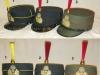 Πηλήκια (παρατάξεων-παρελάσεων) σπουδαστών των στρατιωτικών σχολών του στρατού ξηράς.Νο-1 ''Στρκη Σχολή Ευελπίδων'' (ΣΣΕ),Νο-2 ''Στρκη Σχολή Αξκων Σωμάτων''(ΣΣΑΣ) και Νο-3 ''Σχολή Μονίμων Υπξκων''(ΣΜΥ)