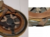 Βρετανικό κράνος των αλεξιπτωτιστών του Β΄ΠΠ με έτος κατασκευής το 1942