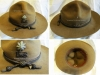 Αμερικάνικο καπέλο ΄΄ασκήσεων και εκπαιδεύσεως'', Αντισυνταγματάρχη του Στρατού Ξηράς.