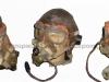Κάλυμμα κεφαλής, μάσκα οξυγόνου και προστατευτικά γυαλιά Αμερικάνου πιλότου του Β΄ΠΠ.
