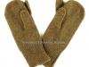 Αμερικάνικα μάλλινα γάντια του Β΄ΠΠ, τα οποία είχαν την ιδιόμορφη κατασκευή να έχουν μόνο τον αντίχειρα και τον δείκτη ελεύθερα προκειμένου να γίνετε χωρίς κανένα πρόβλημα η χρήση του ατομικού οπλισμού από τον εκάστοτε μαχητή που τα έφερε (δωρεά κ.Ιωάννη Βάρσου).