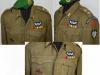 Αντίγραφο στολής για μουσειακή χρήση ''battle dress M1937'' (στολή μάχης Βρετανικού τύπου) Υπολοχαγού (ΠΖ) των ''Δυνάμεων Καταδρομών'' περιόδου 1947-1953, σύμφωνα με τον Στρκο Κανονισμό Σ.Κ.111-10 που εκδόθηκε από το ΥΕΘΑΓΕΣΚλαδ.Β΄Γρ.Β1Ι2αριθμ.πρωτ.Φ.1651215589228αρ.εγκ.8910-5-1947Βασιλικό Διάταγμα ''Περί Στολών Αξκων''. Η στολή φέρει : α. πράσινο μπερέ με εθνόσημο περιόδου 1942-1969 β. στην κάθε επωμίδα από δύο μπρούτζινα αστέρια (βαθμού Υπολοχαγού) γ. στον γιακά του χιτωνίου αριστερά και δεξιά κίτρινες μεταλλικές φλόγες. δ. στο ύψος της δεξιάς τσέπης το μεταλλικό διακριτικού του ''Ιερού Λόχου'' περιόδου 1942-1945 ε. στο ύψος της αριστερής τσέπης το έμβλημα των βρετανών αλεξιπτωτιστών, καθώς και διεμβολές μεταλλίων του ''Πολεμικού Σταυρού'' – ''Στρατιωτικής Αξίας'' – ''Εξαίρετων Πράξεων''. στ. στο ύψος των ώμων φέρει κεντητά τα διακριτικά των ''Δυνάμεων Καταδρομών'', ενώ επιπλέον στον αριστερό ώμο φέρει κεντητό το έμβλημα των ''Δυνάμεων Καταδρομών'' καθώς και το κόκκινο επίρραμα σύμβολο του ''Πεζικού''.