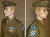 Στολή ''εξόδου'' Υπολοχαγού του (ΠΖ) την οποία έφεραν τα στελέχη του ''Ελληνικού Εκστρατευτικού Σώματος'' κατά την περίοδο που υπηρετούσαν στον πόλεμο στην Κορέα κατά την περίοδο 1950-1953, και ορισμένοι την έφεραν έως το 1955 ως παραμένων κλιμάκιο. Η στολή φέρει τα προβλεπόμενα διακριτικά (δωρεά κ.Κωννου Φάρου), όπου στον αριστερό ώμο δήλωναν την παρουσία της Ελληνικής Δύναμης, ενώ τα διακριτικά στον δεξιό ώμο δήλωναν τον Σχηματισμό όπου υπάγονταν η Ελληνική Δύναμη υπό διοίκηση, ενώ στο στήθος διακρίνονται και τα χορηγηθέντα τιμητικά μετάλλια όπου το ένα είναι του ΟΗΕ και το άλλο των USA.