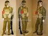 Στολή ''μάχης'' έφεδρου Έλληνα δεκανέα περιόδου 1942-1954, ο οποίος φέρει την βρετανική στολή ΄΄Μ 1939΄΄ (battle-dress), καθώς και την βρετανική αντιασφυξιογόνα μάσκα αερίων του Β΄ΠΠ. Επίσης φέρει το βρετανικό τυφέκιο ΄΄Enfield rifle No2΄΄ (pattern1914) με την ανάλογη ξιφολόγχη Μ1917, και φοράει τα τότε νέο-χορηγηθέντα αμερικάνικα άρβυλα.