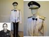 Θερινή στολή Νο4 (εσπερίδων) Υποστρατήγου της ''Ελληνικής Βασιλικής Χωροφυλακής'' περιόδου 1960-1970, η οποία στολή ανήκει στον Αντγο ε.α. της Χωροφυλακής Ξενοφώντα Τζαβάρα (1918-1996),δωρεά κ.Ντόρας Τζαβάρα.