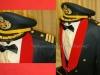 Στολή υπ΄αριθ. ''Νο-4 Εσπερίδων'' που φέρει τον βαθμό του ''Επιπυραγού'' του ''Πυροσβεστικού Σώματος'', περιόδου 1975-2004 (δωρεά κ. Διονύσιου Συντίλα) .