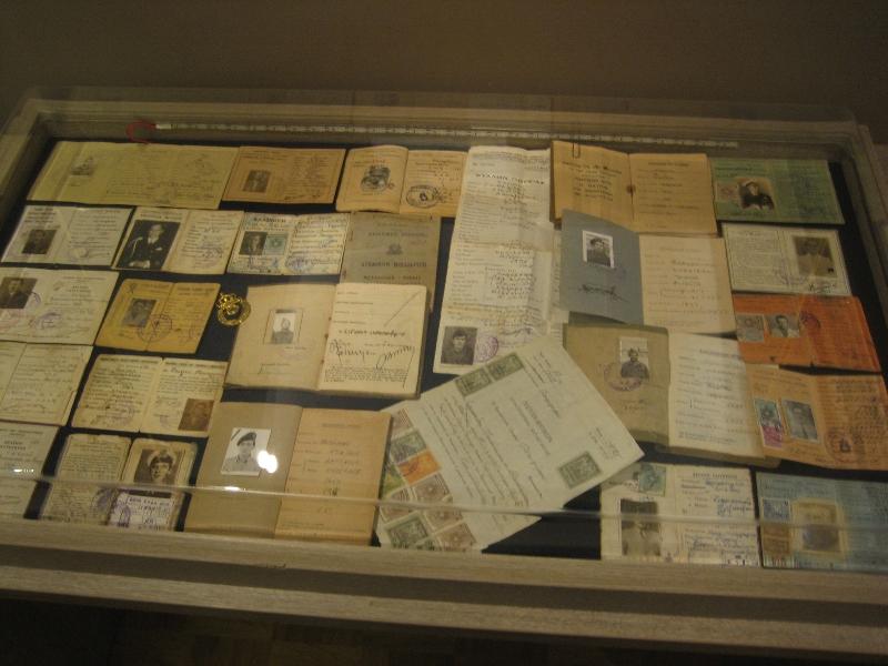 Μέρος των εκθεμάτων του ''Βλαχογιάννειου'' μουσείου.