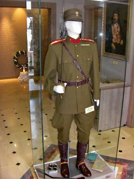 Μερική άποψη από την είσοδο στο ΄΄Βλαχογιάννειο΄΄ μουσείο