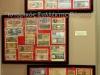 Κορνίζες που εκτίθενται στο Βλαχογιάννειο Μουσείο με Ελληνικά χαρτονομίσματα περιόδου 1920-1950