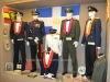 άποψη από εκθέματα του Βλαχογιάννειου Μουσείου με επίσημες στολές των αξκων περιόδου 1950-1980