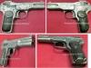 Πιστόλι απενεργοποιημένο ''Browning M1900'' το οποίο κατασκευάστηκε στο Βέλγιο στα τέλη του 19ου αιώνα, και χρησιμοποιήθηκε επίσημα και από τον Ελληνικό Στρατό.