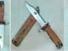 Η κλασική ξιφολόγχη του Ρωσικού τυφεκίου ''Kalashnikov'' ΑΚ-47, η οποία ξιφολόγχη χρησιμοποιούνταν και ως μαχαίρι επιβίωσης, αλλά και ως συρματοκοπίδα.(δωρεά κ.Κωννου Τσίπα)