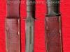 Το θρυλικό μαχαίρι ''KA-BAR'' των Αμερικάνων πεζοναυτών του Β΄ΠΠ, όπου η δερμάτινη θήκη φέρει και το έμβλημα των εν λόγω πεζοναυτών ΄΄USMC΄΄