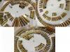Βιτρίνα αποτελούμενη εσωτερικά από τέσσερις περιστρεφόμενους δίσκους όπου υπάρχουν προς έκθεση 350 φυσίγγια 60 διαφορετικών διαμετρημάτων (απενεργοποιημένα) από ατομικό φορητό οπλισμό (περίστροφα-πιστόλια-τυφέκια-αυτόματα-ημιαυτόματα) περιόδου 1880-2017. Η παραπάνω συλλογή ανήκει στον κ.Βασίλειο Κωσταρέλλο και χρειάστηκαν 25 έτη για να την επιμεληθεί και να την συμπληρώσει, η οποία θεωρείται πανελλαδικά από τις πιο ολοκληρωμένες συλλογές και την οποία συλλογή την παραχώρησε στο Βλαχογιάννειο Μουσείο προκειμένου να είναι στην διάθεση του κάθε επισκέπτη, συλλέκτη και μελετητή του αντικειμένου.