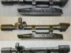 Αμερικάνικη διόπτρα ελεύθερου σκοπευτή ''Μ84'' του τυφεκίου ''Μ1'' προσαρμοσμένη σε βάση του τυφεκίου ''FN'' για χρήση αυτής από τις Ελληνικές ''Ειδικές Δυνάμεις'' (δωρεά κ.Ιωάννη Τζέλιου).