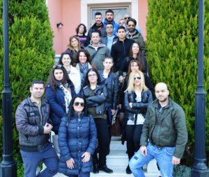 Την Τετάρτη 15-3-2017 πρωτοετείς  σπουδαστές του Τμήματος  ''Αρχαιοφυλάκων'' του Ι.Ε.Κ.  Βέροιας επισκέφθηκαν το Βλαχογιάννειο Μουσείο.